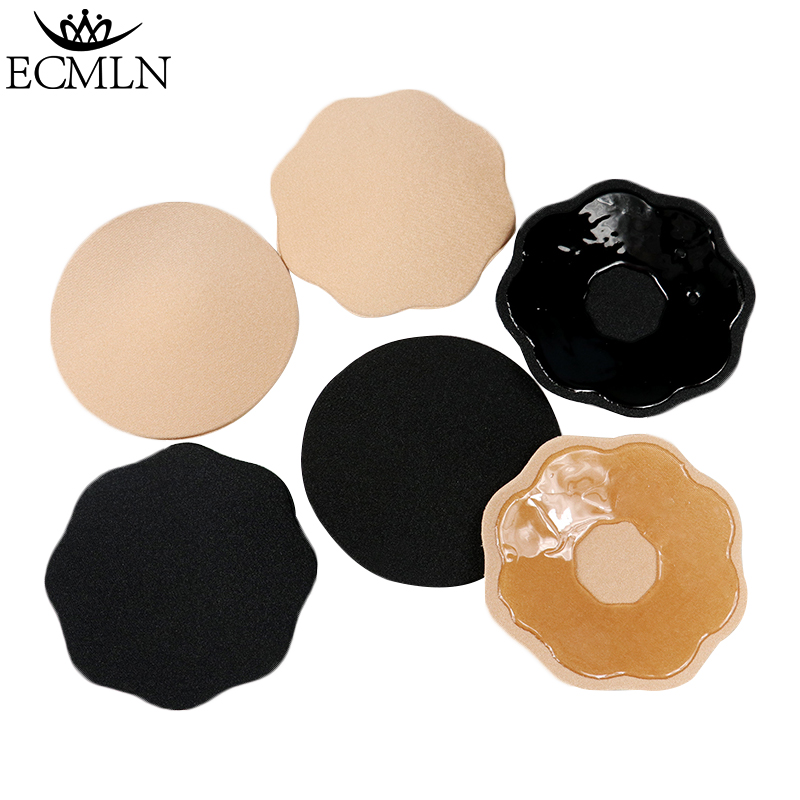 bbe5a57a445 1 Pair New Fashion Sexy Bra Pad Reusable Self Adhesive Silicone Breast Bra Nipple  Cover Pad Clothing Accessories