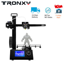 Tronxy 3d Printer 220*220*220 Mm Presisi Tinggi 3D Pencetakan Aluminium Struktur Logam 3d Printer Diy kit + 10M Filamen 8G SD Hadiah(China)
