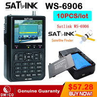 Genuine Satlink WS 6906 3 5 DVB S FTA Digital Satellite Meter Satellite Finder Satellite