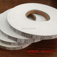 Care Label Washable Durable Bedclothes Label Deron Adhesive Tape Neck Label Color Fast Size Can Be