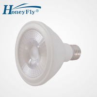 Freies Verschiffen Hochwertige PAR30 LED Lampe E27 12 Watt AC180-240V Kalt/Warm Weiß COB Led-strahler LED Energie Sparlampe Birne