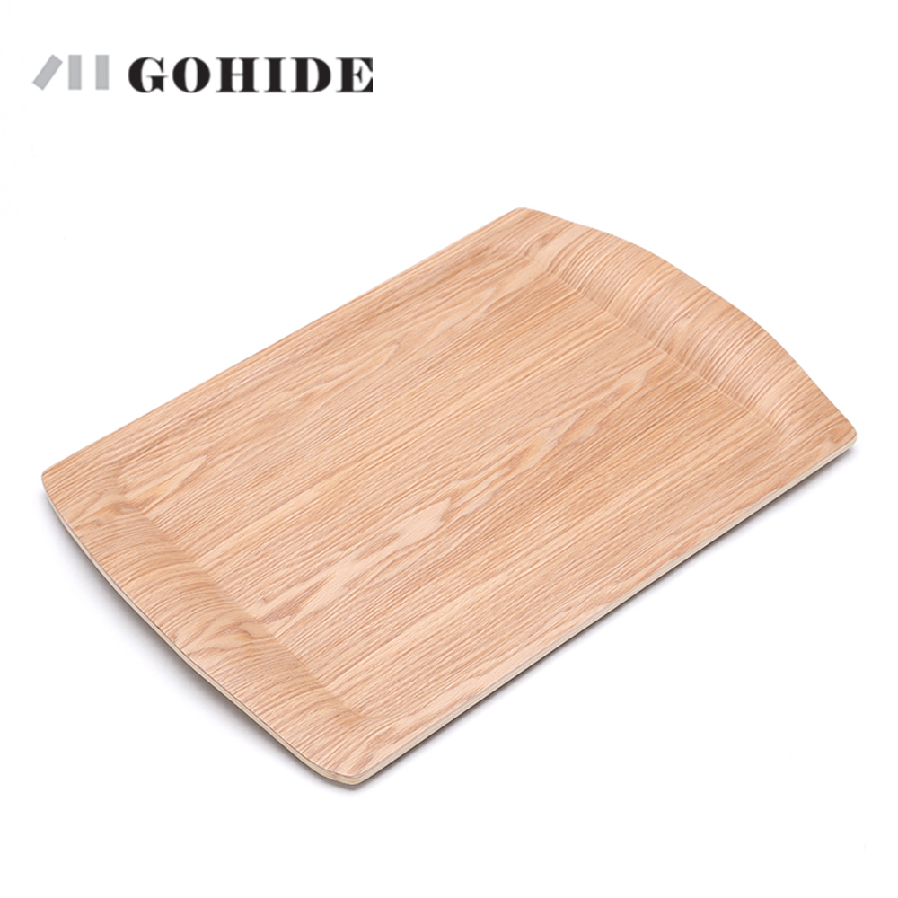 JUH A Wooden Rectangular Plate Large Fruit Tray Wood Pallet Fruit Cake Plates Waterproof Dinner Plates Buffet Dishes Tea Tray-in Storage Trays from Home ...  sc 1 st  AliExpress.com & JUH A Wooden Rectangular Plate Large Fruit Tray Wood Pallet Fruit ...