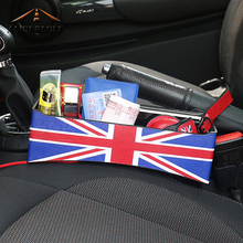 AMBERMILE Кожа автокресло щелевая коробка для хранения Gap органайзер для Mini Cooper R56 R55 R50 R53 R60 R61 F56 F55 f54 F60 аксессуары