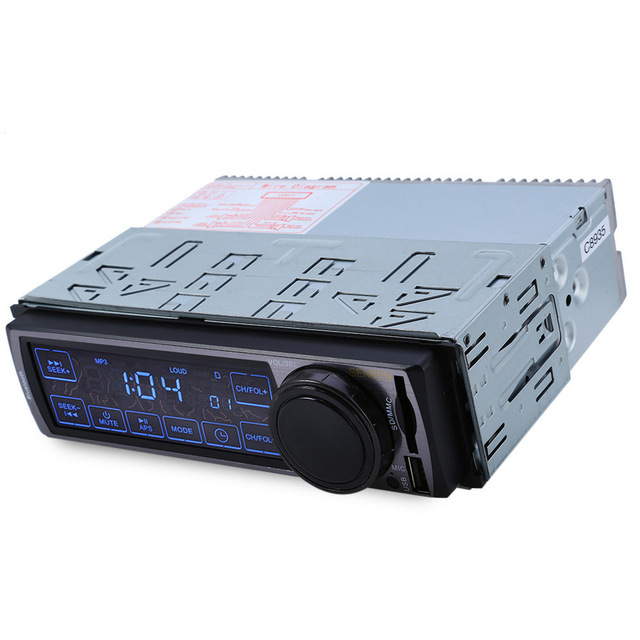 Hot sale! Hot sale 2016 Hot Sale Black Metal 3077 12V Car Audio Stereo FM Bluetooth V2.0 Touch Screen Support USB SD Mp3 Player