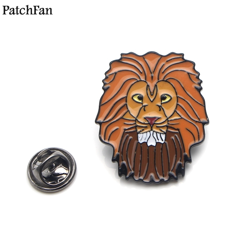 Apparel Sewing & Fabric Frugal 20pcs/lot Patchfan Lion Kings Pumbaa Zinc Tie Cartoon Funny Pins Backpack Clothes Brooches For Men Women Hat Badges Medal A1843 Smoothing Circulation And Stopping Pains Home & Garden
