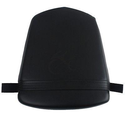 Black Rear Pillion Passenger Cushion Seat For YAMAHA YZF R6S 2006-2009 R6 03-05