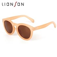 LianSan Retro Cat Eye Pilot Aviator Polarized Sunglasses Women Men Brand Designer Oculos de sol Sun Glasses Anti UV LSP4202