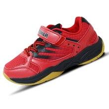 Натуральная Tibhar детская обувь для настольного тенниса противоскользящие, из дышащей ткани спортивная домашняя обувь кроссовки