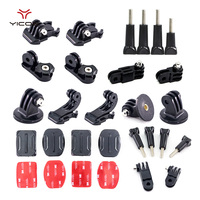 Gopro Accessories Set Kit Mount Thumb Knob Adapter Arm Chain Tripod Screw For GoPro 5 4