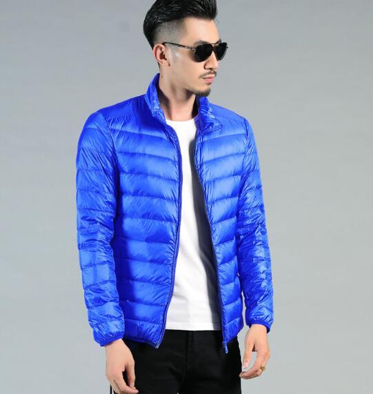 2018 neue dünne abschnitt unten jacke kragen winter jacke XL männlich