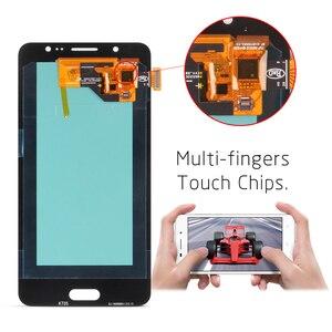 Image 2 - Samsung Galaxy J5 2016 Ekran J510 LCD SM J510F J510FN LCD ekran Ve dokunmatik ekranlı sayısallaştırıcı grup Ile Yapıştırıcı Araçları