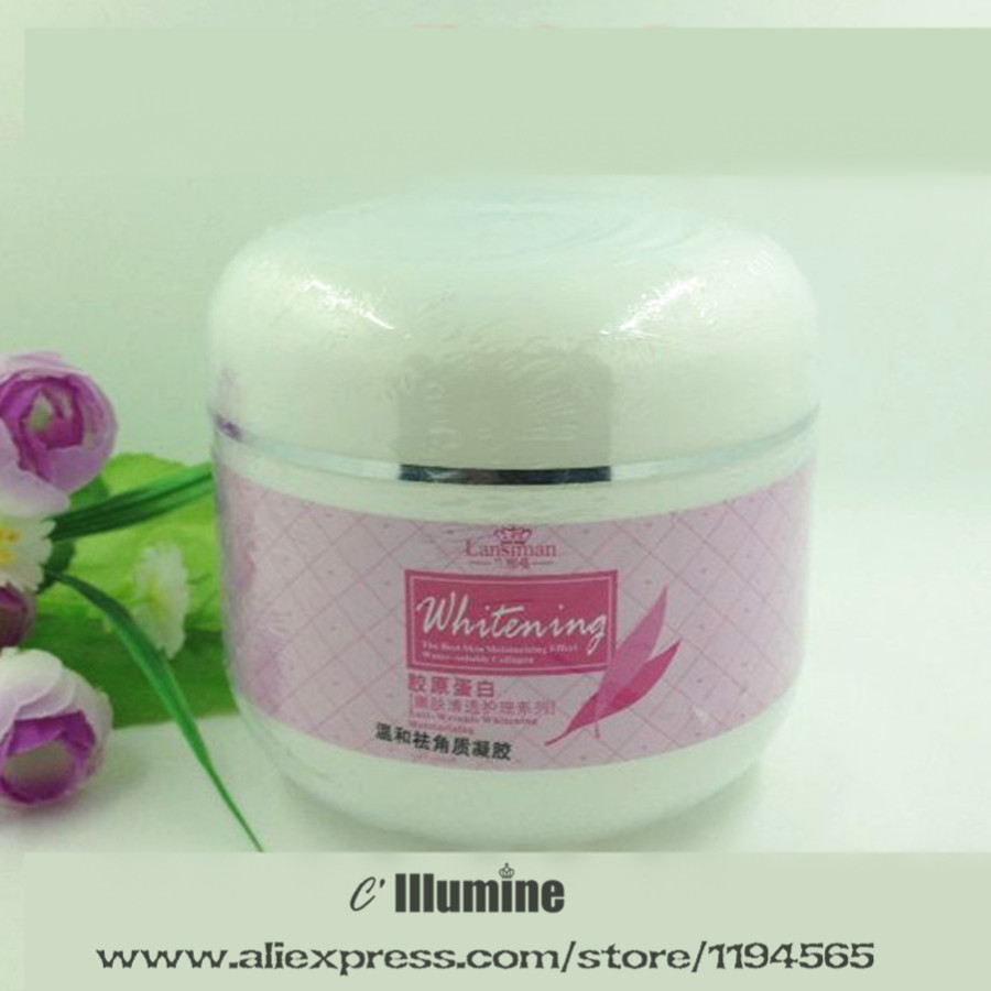 500g Beauty Salon Equipment  Massage Collagen Cream Moisturizing Replenishment Whitening Facial Body Brightening Nourishing free shipping authentic quality whitening beauty salon dedicated pulling compact cosmetic cream