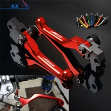 For Honda CRF250R CRF250X CRF 250 R X CRF250 CNC Motorcycle Pivot Dirt Bike Brake Clutch Levers Motorbike Accessories