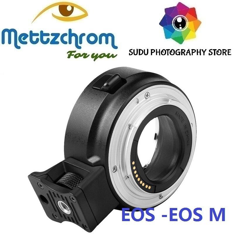 EF-EOSM Autofocus Électronique Adaptateur pour Canon EF-S EOS lens pour EOS M EF-M Caméra EF-NEX II Mise Au Point Automatique Électronique adaptateur
