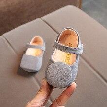 Новые От 0 до 2 лет весенние детские туфли принцессы красные милые красные туфли для маленьких девочек черные праздничные туфли для дня рождения Мягкая Обувь для младенцев