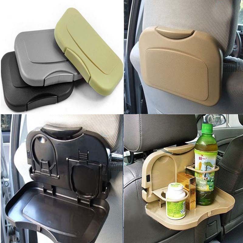 Auto Multifunction Folding Car Back Seat Table Drink Food Cup Tablet Tray Holder In Drinks Holders From Automobiles Motorcycles On Aliexpress