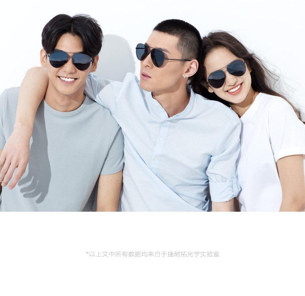 Xiaomi Mijia Turok Steinhardt TS Driver SunglassesTS Nylon Polarized Stainless SunGlass UV400 for Travel Driving unisex H20 (11)