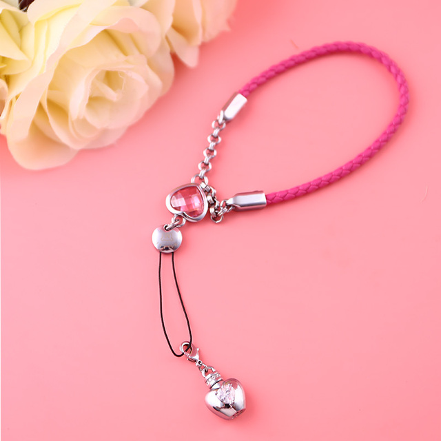MILESI Women Lady Fashion Phone Chain Hand Hanging Chain Creative Couple Chain Valentine's Gift s0168