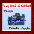 100% desbloqueado original & bom trabalho motherboard principal placa de circuito para sony l36h xperia z com frete grátis de chips