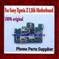 100% original y buen trabajo desbloqueado placa principal placa base con chip de circuito para sony l36h xperia z envío libre
