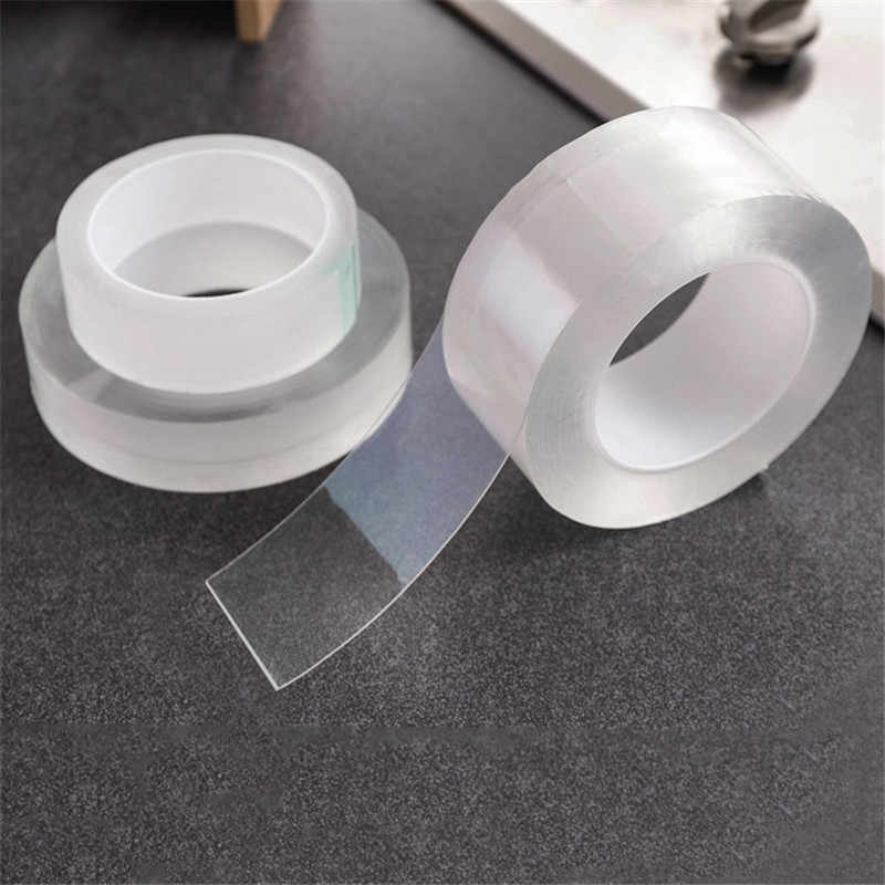 Sink Waterproof Mildew Transparent Tape Bathroom Crevice Strip Strong Self-adhesive Pool Water Seal Tape Kitchen Accessories