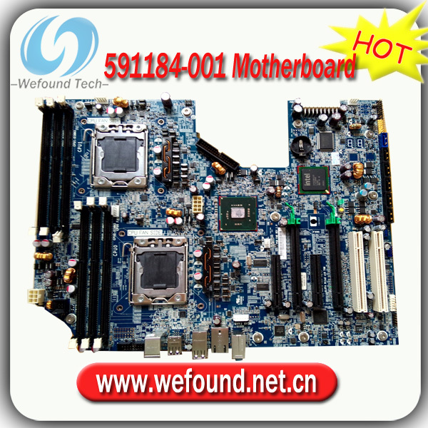 Hot! Server motherboard mainboard 591184-001 460840-003 For HP Z600 hot server motherboard mainboard 441449 001 441418 001 for hp xw4600 x38