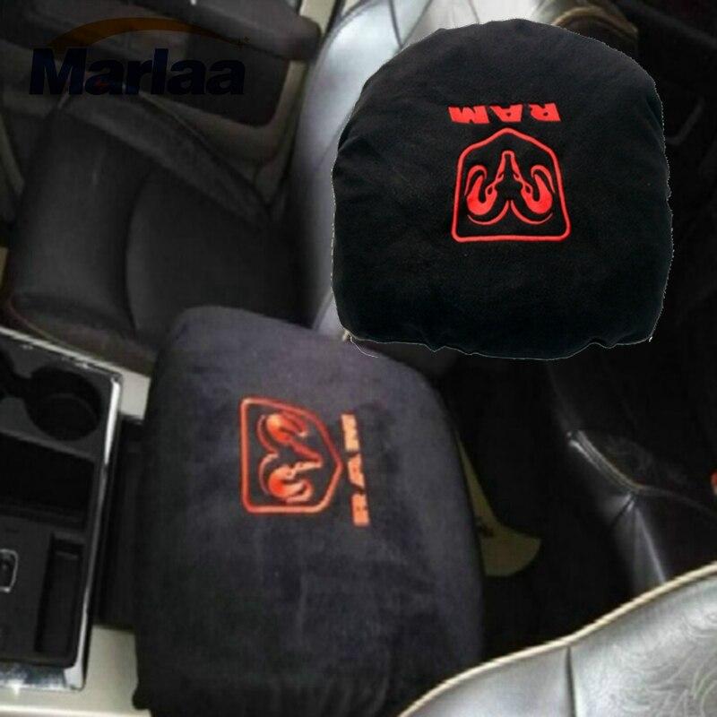 Center Console Armrest Cover Protector Pad For Dodge Ram 1500 2500 3500 4500 5500 Pickup Trucks 1993-2016 Black