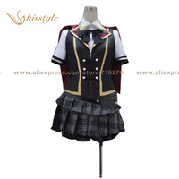 Kisstyle Fashion Final Fantasy Type 0 Girl Short Summer Cosplay Costume,Customized Accepted