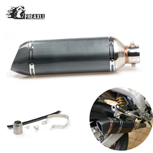 36-51MM Modified Motorcycle Exhaust Pipe Muffler Pit Bike Moto escape Universal ATV Scooter For Kawasaki Z