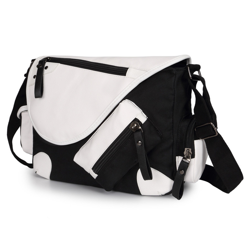 21157841e Men Brief Brand Canvas Multi Pocket Crossbody Bags Casual Messenger Bag  Large Capacity Travel Package With Shoulder Strap-in Crossbody Bags from  Luggage ...