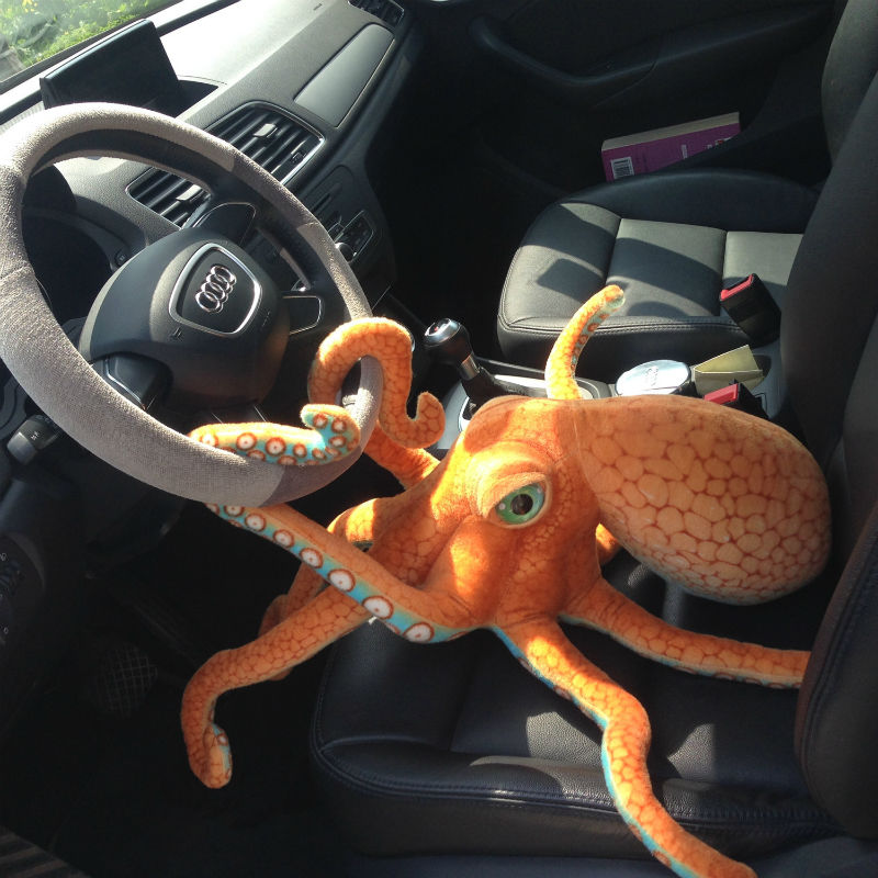 simulacao gigante polvo brinquedo de pelucia macio recheado oceano moluscos animais polvo bonecas presentes aniversario engracado