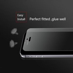 Image 3 - Ronican Frosted Matte Glas Voor Iphone Se Gehard Glas 9 H Hardheid Iphone 6 7 Explosieveilige Beschermende Glas voor Iphone 5s 4