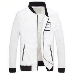 Новинка 2019 г. зимняя мужская куртка пальто весна Для мужчин s Костюмы Новый самосовершенствование тенденция Бейсбольная одежда на молнии