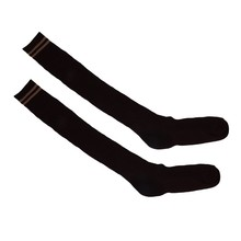 College Girl Striped Thigh High Socks