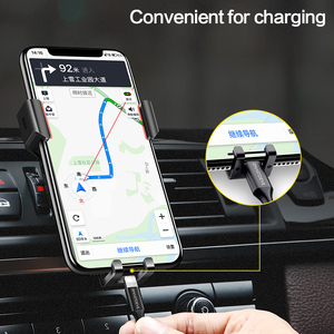 Image 4 - SmartDevil Car mobile Holder for Phone Gravity Reaction Air Vent Mount Phone Holder Cell Phone Holder Stand for Samsung Xiaomi