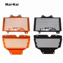 MAIKAI For KTM DUKE390 DUKE 390 2017-2018 Aluminum Motorcycle Radiator Guard Grille Protection Water Tank