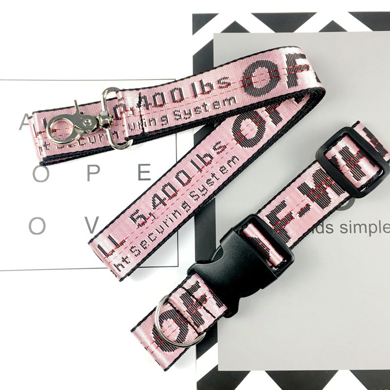 Dog Collar Leash Fashion Perro and Set Pet Lead for Dogs Cats Nylon Car Seat Belt