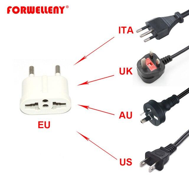 Universal Standard UK US AU zu EU AC Power Buchse Stecker Reise Ladegerät Adapter Konverter Travel Power Stecker