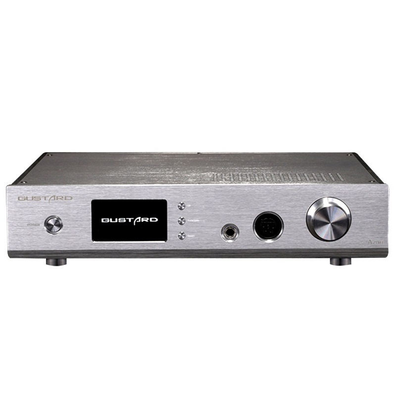 Amplifiers USB DAC GUSTARD A20H XMOS PCM/DSD DOP Decoder Machine Double AK4497 Class A Full Balance Headphone Amplifier Amp