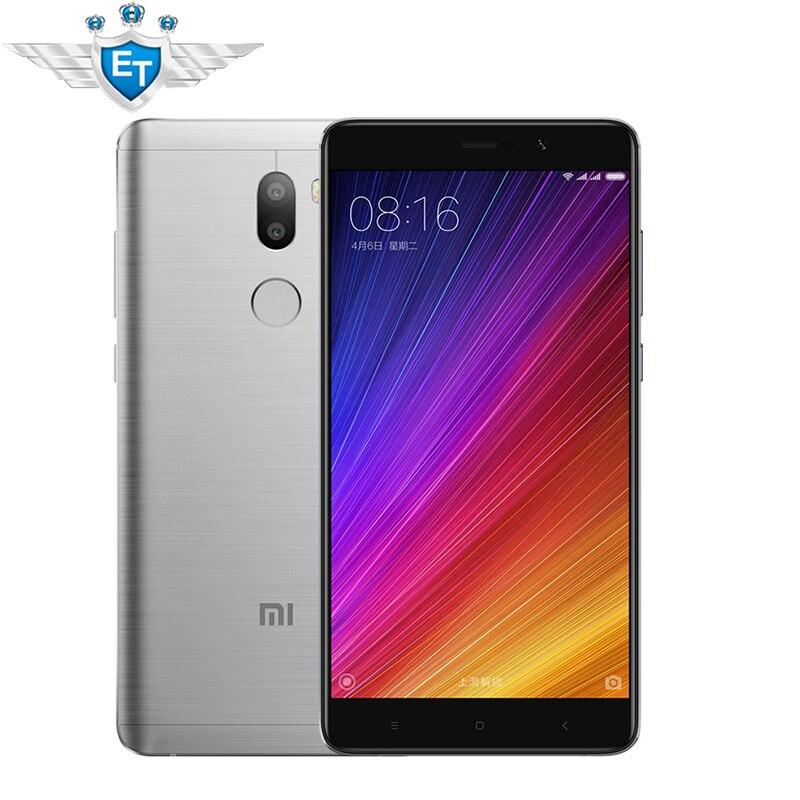 """Цена за Оригинал xiaomi mi5s плюс 5.7 """"смартфон Snapdragon 821 Quad Core Mi5S Плюс 13MP Камера 4 ГБ RAM 64 ГБ ROM Отпечатков Пальцев ID NFC"""