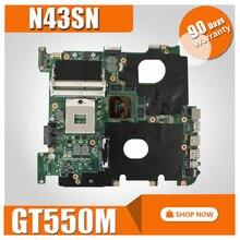 N43SN Motherboard GT550M 1GB For ASUS N43S N43SL N43SN N43SM Laptop motherboard N43SN Mainboard N43SN Motherboard