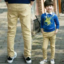 Pantalon pour enfants, automne et hiver, en velours, vêtements pour enfants, pour grands garçons, automne épais, pantalons décontractés