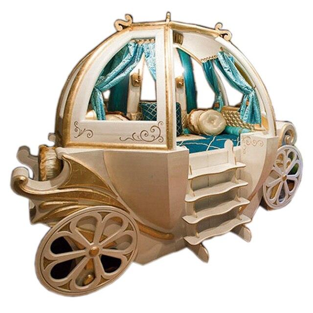 Glückliches Baby Benutzerdefinierte Massivholz Jungen Und Mädchen Bett  Thema Hotel Eigenschaften Amerikanischen Wagen Bett Kinder Möbel
