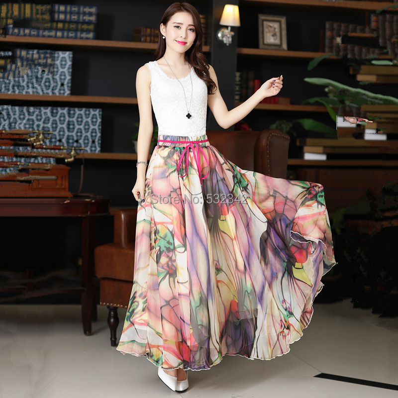 Aliexpress.com : Buy New arrival gorgeous summer long skirts high ...