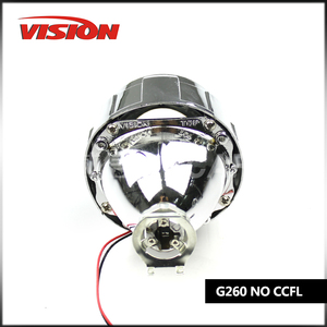 2.5 Inch Hid Projector Lens H1 H4 H7 Car Headlight Bixenon Hid Xenon Kit Hid Projector Lens headlight Free Shipping