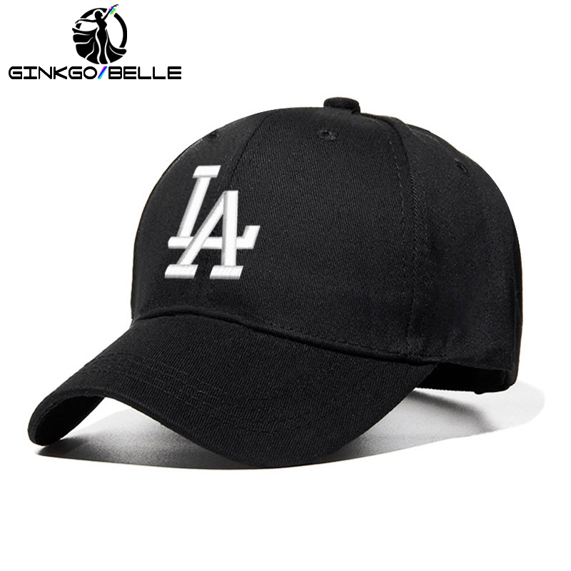 2019 New Letter   Baseball     Caps   LA Dodgers Embroidery Men   Cap   Unisex Cotton Dad Hat Summer Snapback   cap   Women Custom Dropshipping