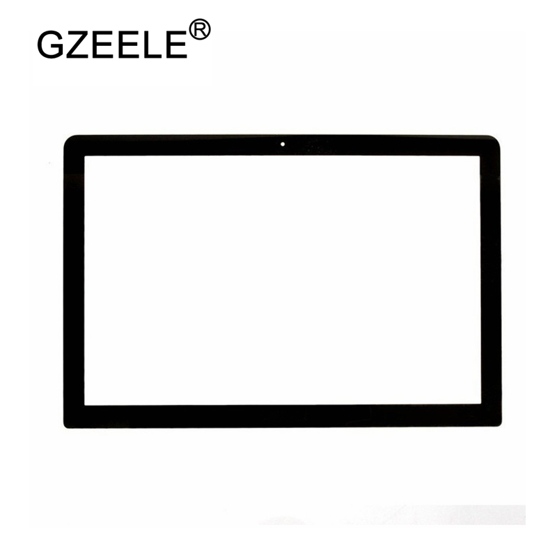 цены GZEELE For MacBook Pro A1278 Front LCD Screen Glass 13'' Front LCD A1278 Glass Cover Sheet 2009-2012 Year MB466 MC724 BEZEL CASE