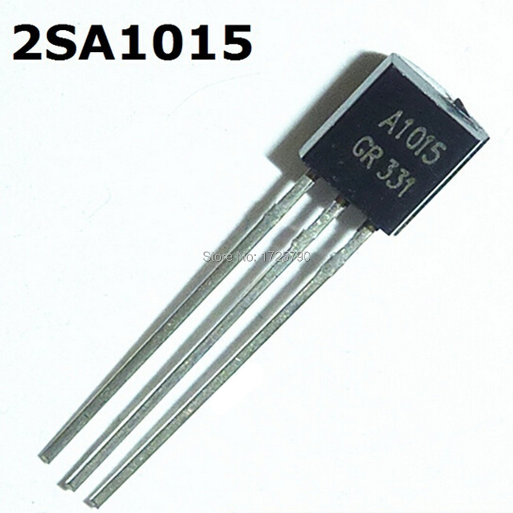 Free Shipping New Original 100pcs 2SA1015 A1015 Transistor TO 92 015A 50V PNP GR 331