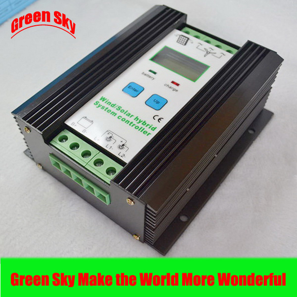 24V mppt charge wind generator 600w controller wind generator mppt charge controller
