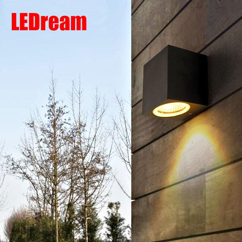 COB square led outdoor wall lamp Nordic contemporary and contracted wall lamp, corridor lamp exterior balcony wall lamp cob square led outdoor wall lamp nordic contemporary and contracted wall lamp corridor lamp exterior balcony wall lamp